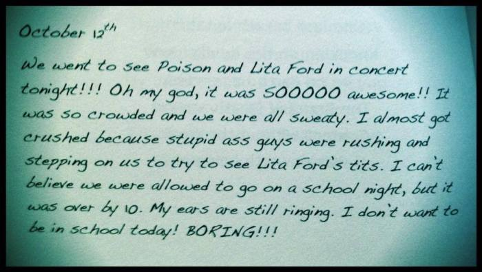 """From my book """"Dissed & Pissed"""""""